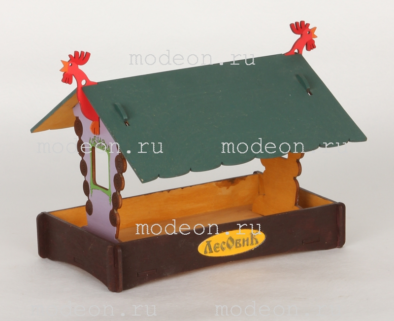 Мини-кормушка для птиц Петушок