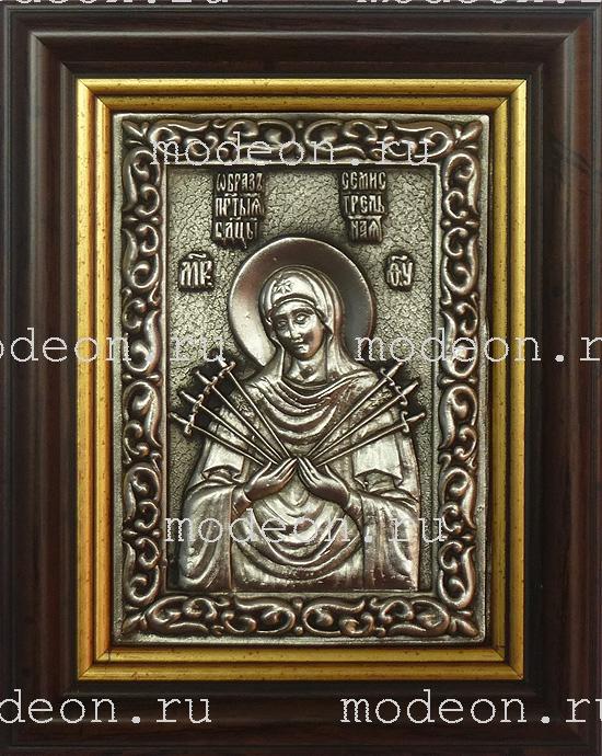 Икона Образ Пресвятой Богородицы Семистрельная