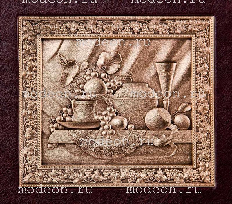Набор из 6 бокалов для бренди Богемия Флорис, в лареце