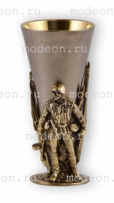 Набор из 6 стопок Слава Русскому оружию