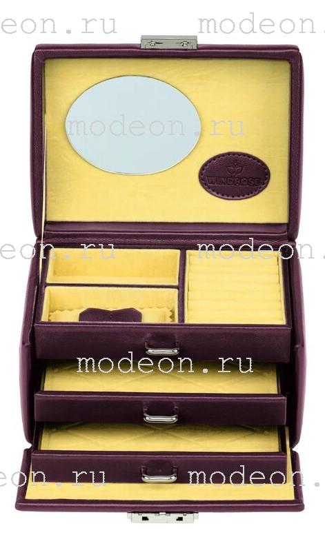 Шкатулка для украшений Merino Moda 3676, WindRose