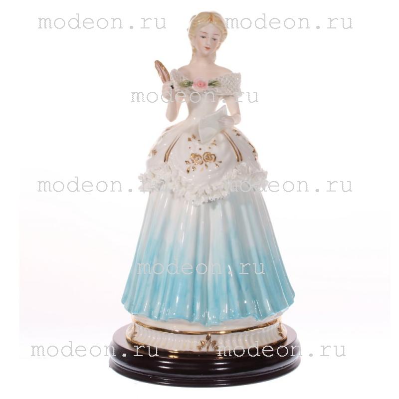 Фарфоровая статуэтка Дама