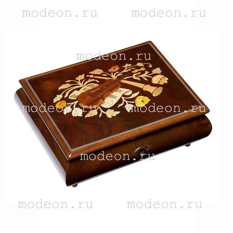 Шкатулка для ювелирных украшений Музыкальные инструменты - 1, ARTWOOD