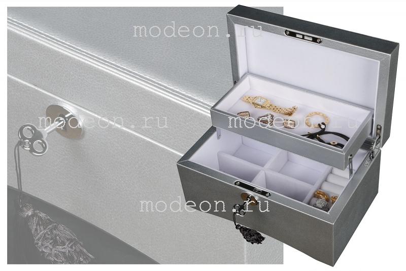 Шкатулка для украшений Мост Евы, серебро