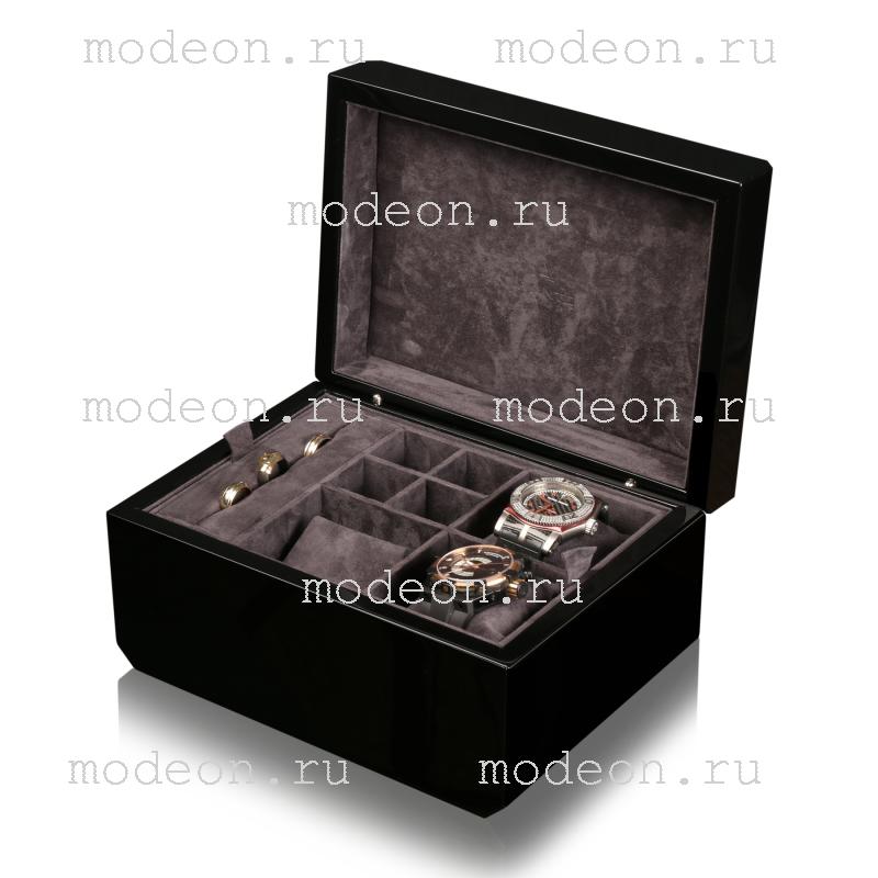 Шкатулка для мужчин премиум-класса Avante, венге