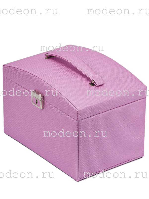 Шкатулка для украшений Кармен, розовая