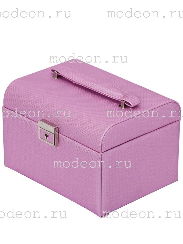 Шкатулка для украшений Зефирка, розовая
