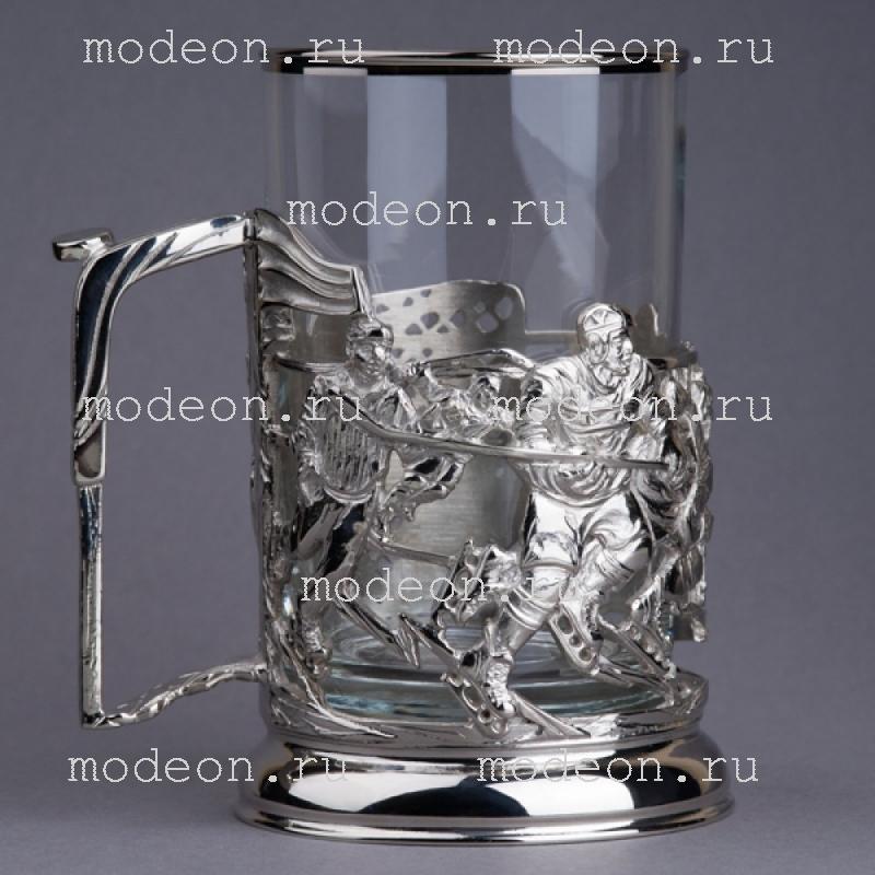 Подстаканник никелированный КГБ