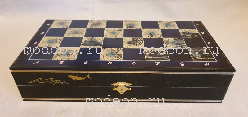 Шахматы Морские, карта мира