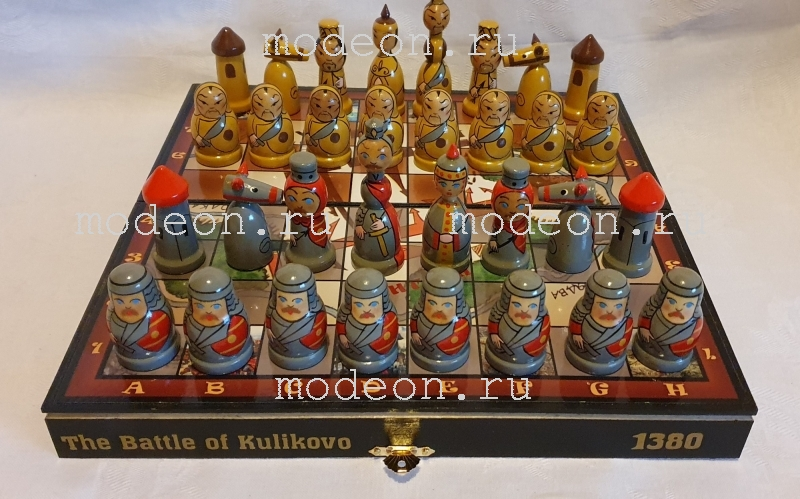 Шахматы детские Куликовская битва