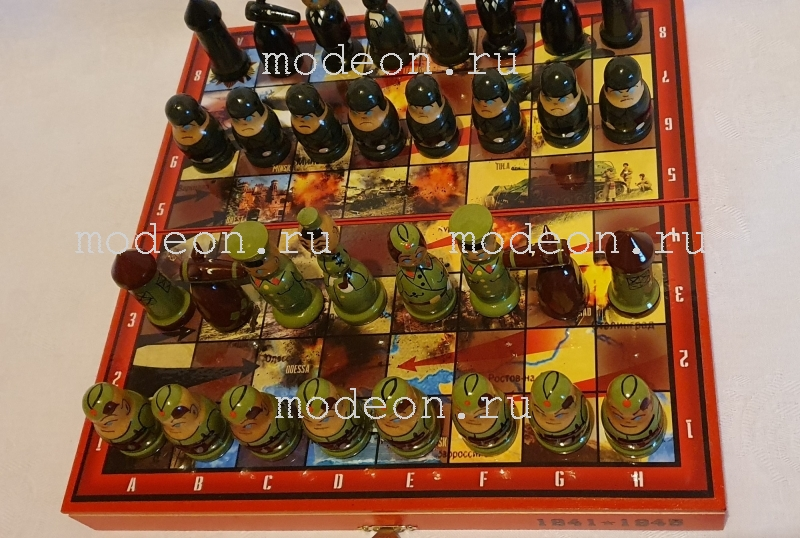 Шахматы детские Великая Отечественная война
