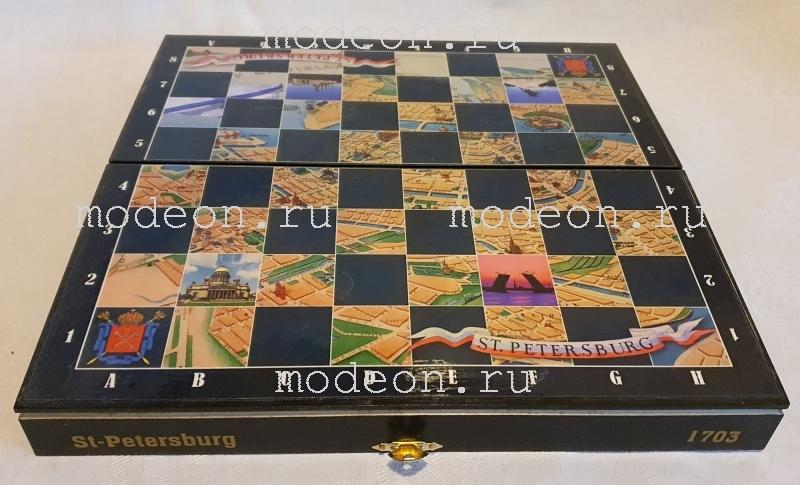 Шахматы сувенирные Санкт-Петербург