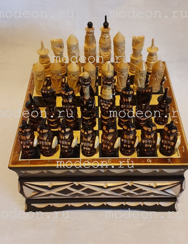 Шахматный ларец Крестоносцы, малый