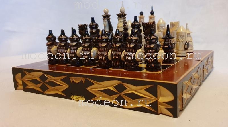Шахматная доска Крестоносцы, малая