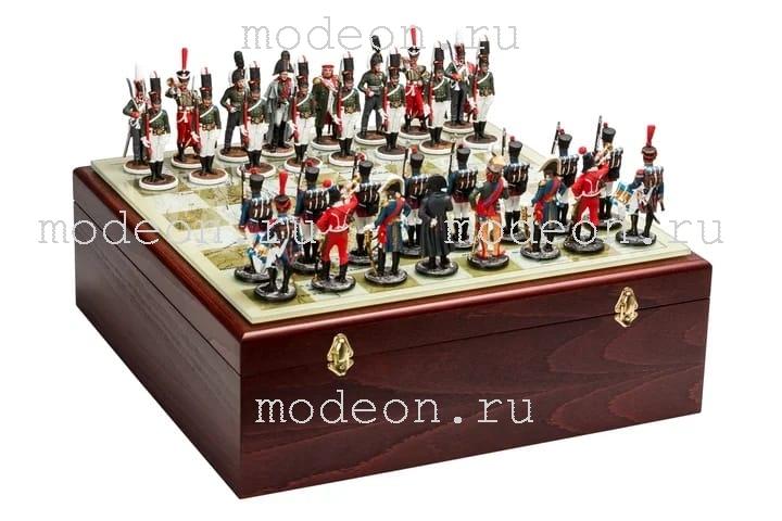 Шахматы оловянные Бородино