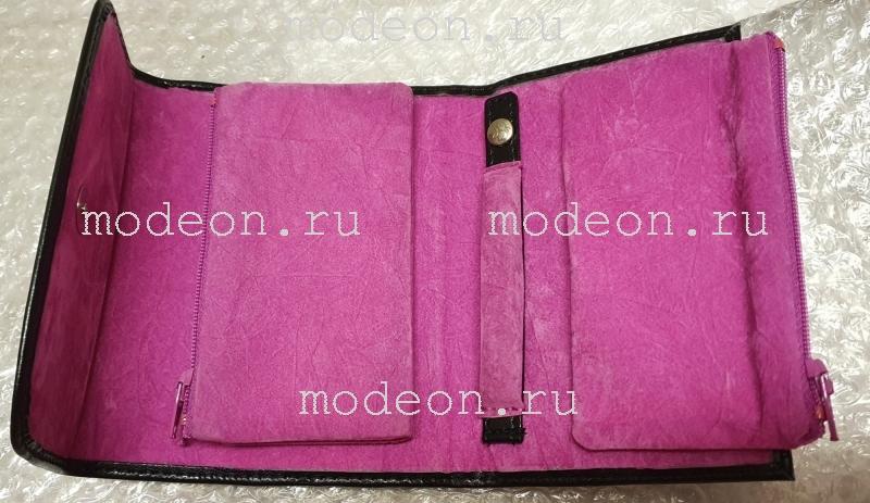 Дорожный клатч для драгоценностей Merino Moda 3696, WindRose