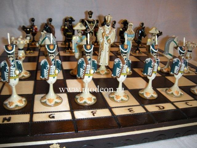 Шахматы Гусарская баллада