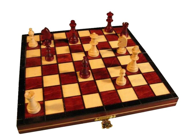 Шахматы Магнитные, мини.