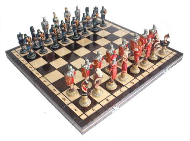 Шахматы Римляне и викинги.