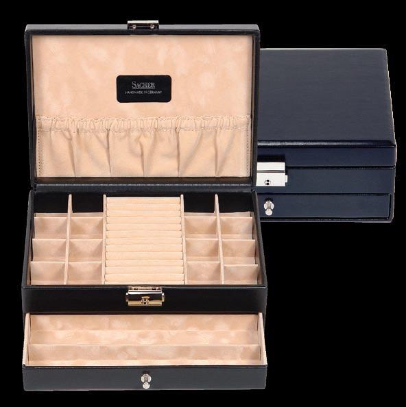 Шкатулка для мужчин Manbox-2040 н/к, Sacher
