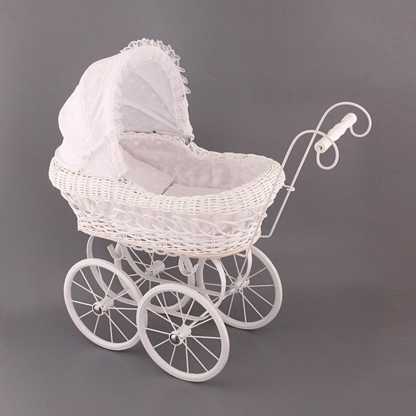 Плетеные коляски для кукол Белоснежка, hr-55см.