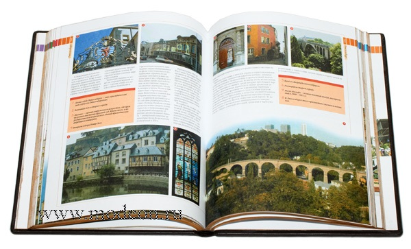 Подарочная книга 100 Городов мира