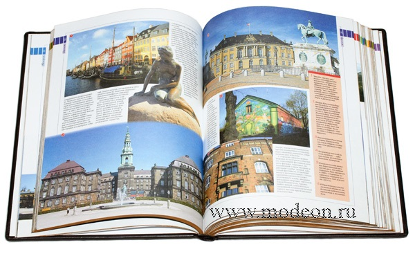 Подарочная книга 100 Мест Европы.
