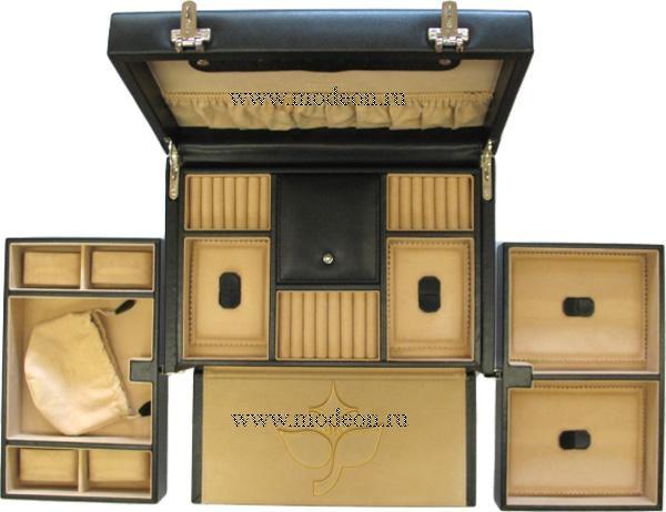 Шкатулка из натуральной кожи Ambiance 3244, WindRose
