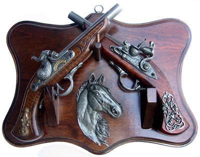 Коллаж с оружием Пистоли-2, La Balestra