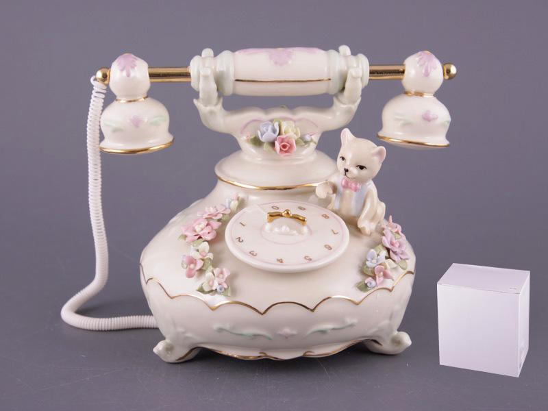 Статуэтка музыкальная Телефон, 13см