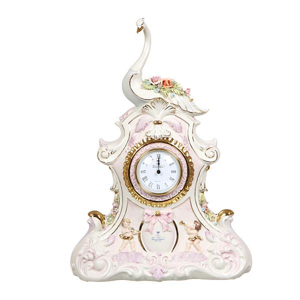 Часы каминные Лебедь, 48см