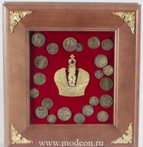 Панно с монетами
