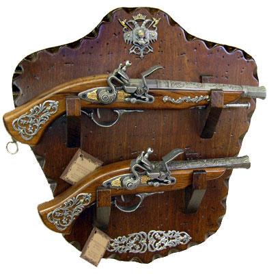 Панно с оружием