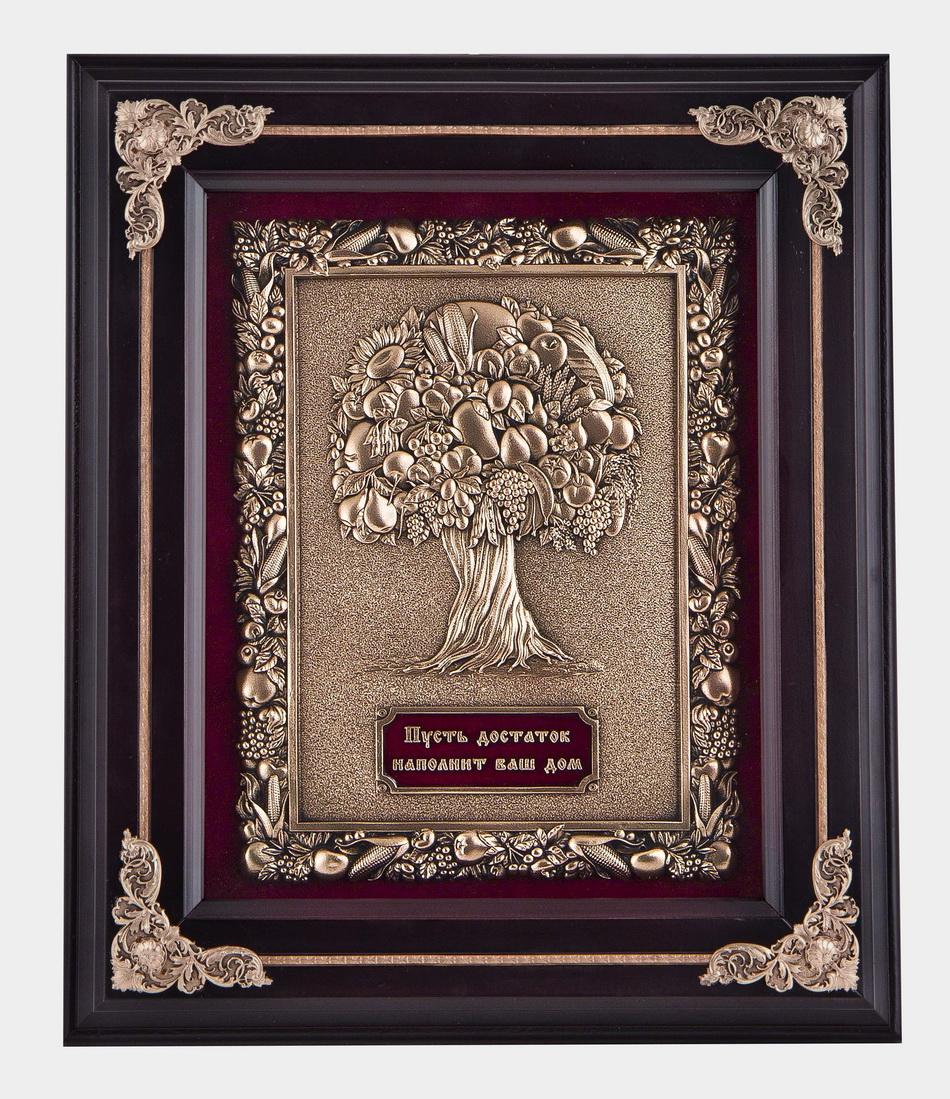 Ключница настенная Древо изобилия, венге