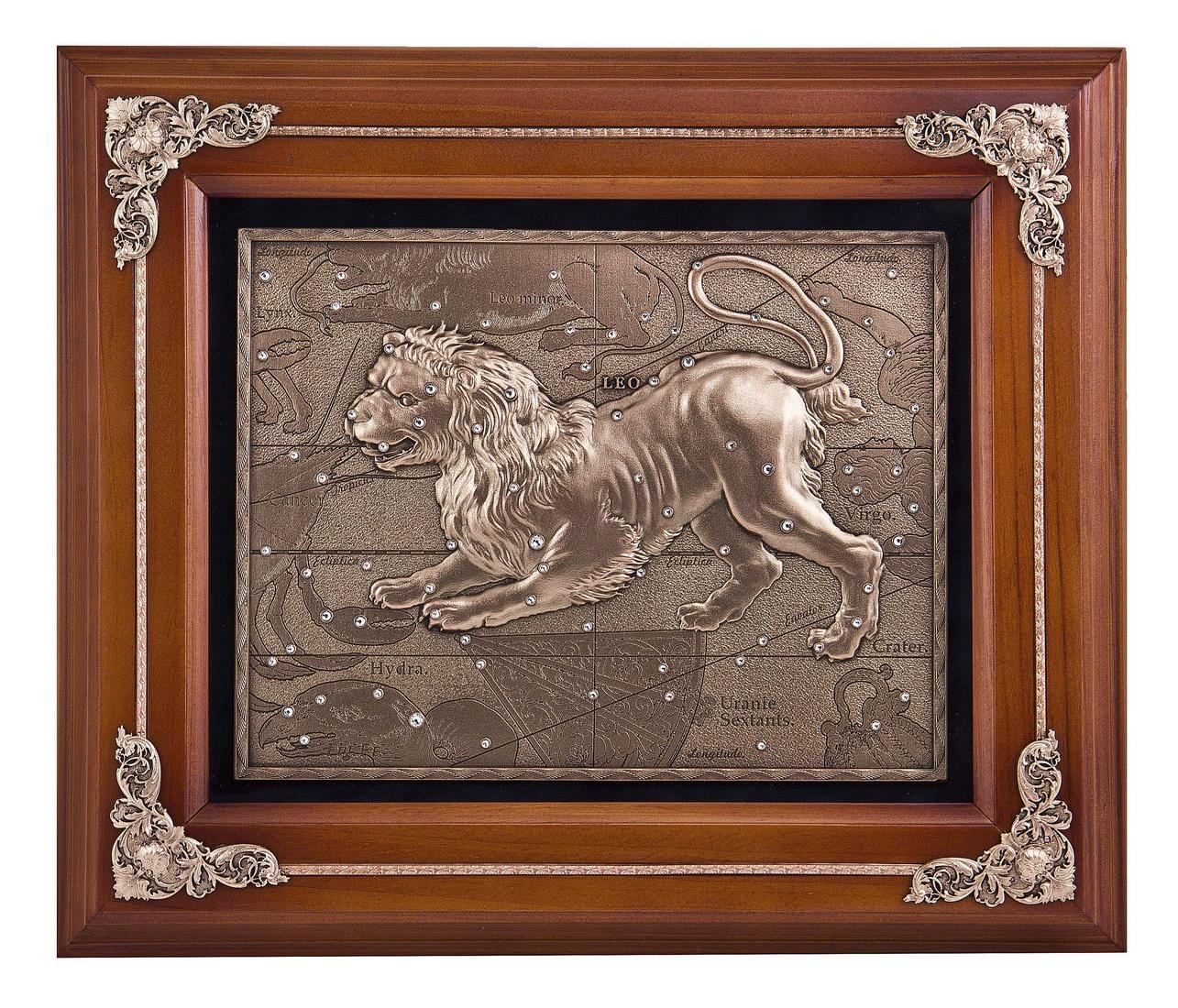 Ключница настенная Лев