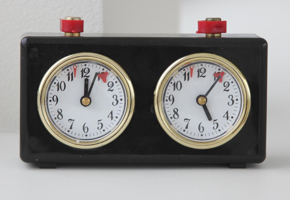 Механические шахматные часы Рубин.