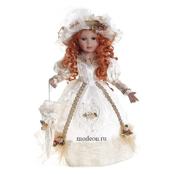 Фарфоровая кукла Анжелика, 40 см