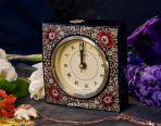 Настольный часы из перламутра Время осени.