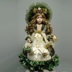 Фарфоровая кукла Анжелика, 61см.