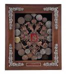Панно Старые монеты.