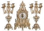 Часы и канделябры из латуни Грация, Stilars s.n.c.