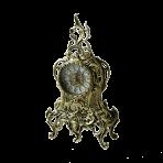 Часы каминные бронзовые Ласу, золото.