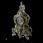 Часы каминные Ласу, антик.