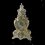 Часы  настольные из бронзы Флор.
