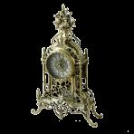 Часы настольные из бронзы Кафедрал, золото.