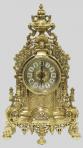 Часы каминные бронза Барокко, золото.