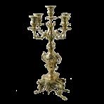 Канделябр высокий из бронзы Каранка.