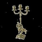 Канделябр из бронзы Кавалло.