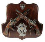 Коллаж с оружием Битва за королевство, La Balestra.