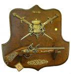 Коллаж с оружием Трофей, La Balestra.